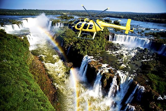 Sobrevuelo en Helicóptero - Iemanja