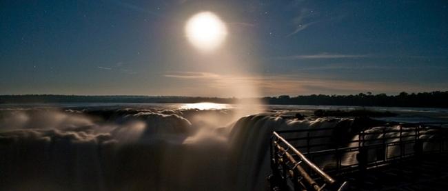 Cataratas con luna llena - Iguazú /  - Iemanja