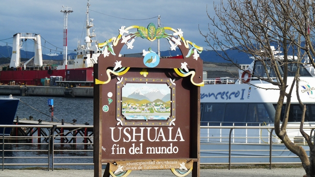 USHUAIA  FIN DEL MUNDO PRINCIPIO DE TODO - Ushuaia /  - Iemanja