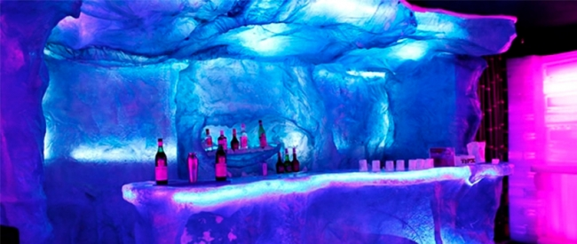 ICE BAR (Bar de Gelo)